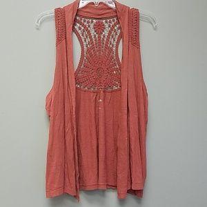 Boho Style Crochet Vest